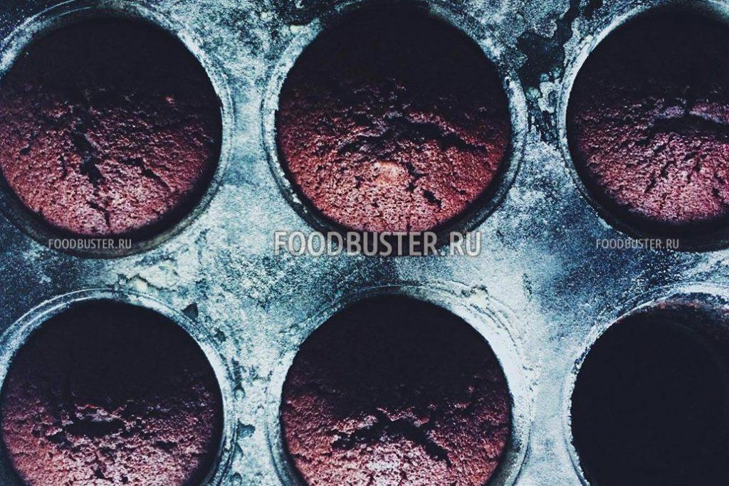 Шоколадные маффины – рецепт