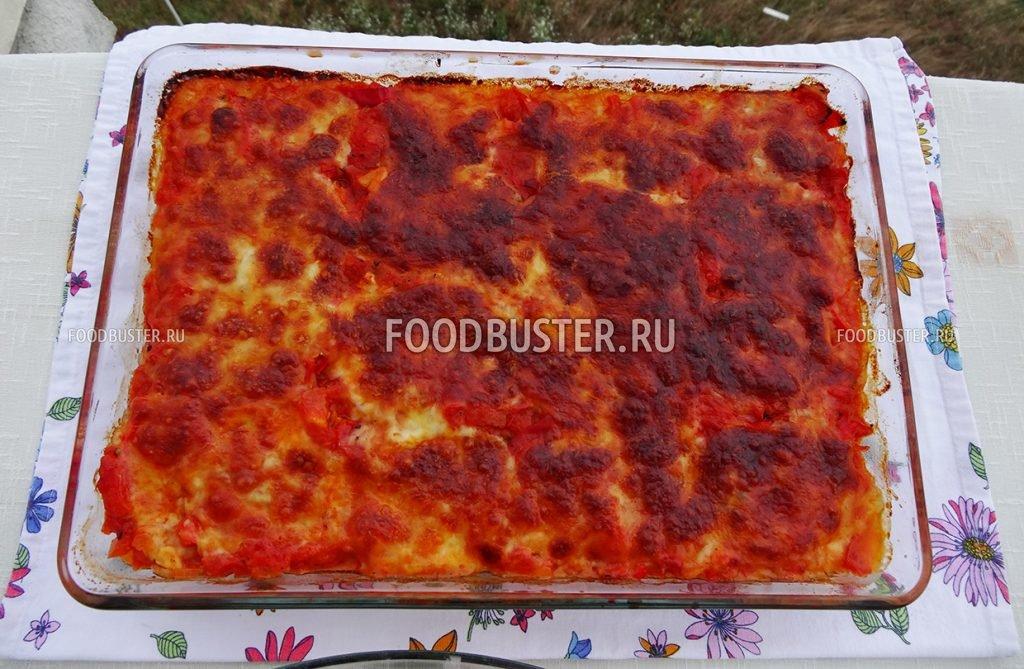 Каннеллони с томатной пастой как приготовить