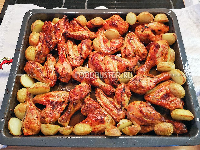 Вкусные куриные крылышки и ножки как приготовить