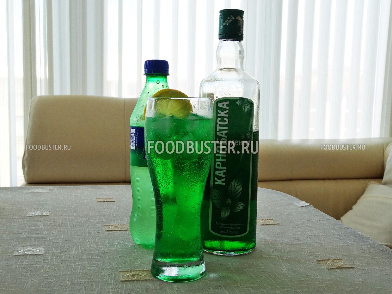 Мента болгарский освежающий коктейль